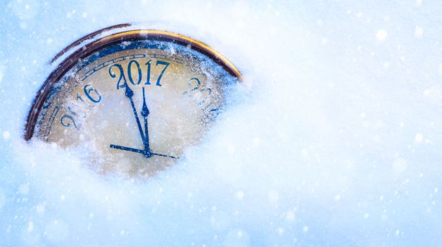 63236418 - art 2017 happy new years eve background