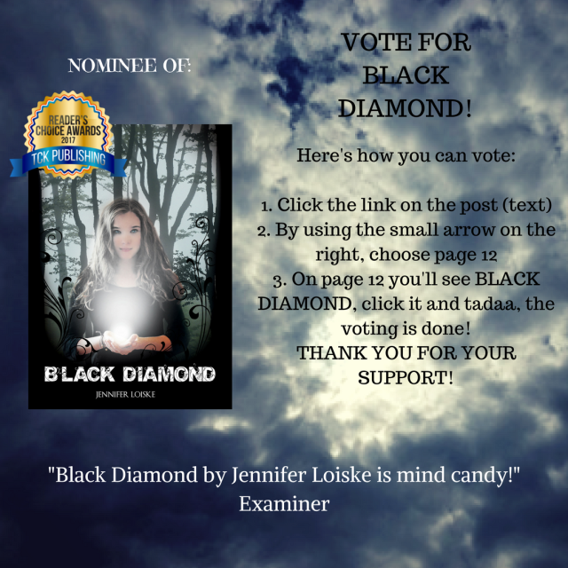Black Diamond by Jennifer Loiske is mind candy! Examiner